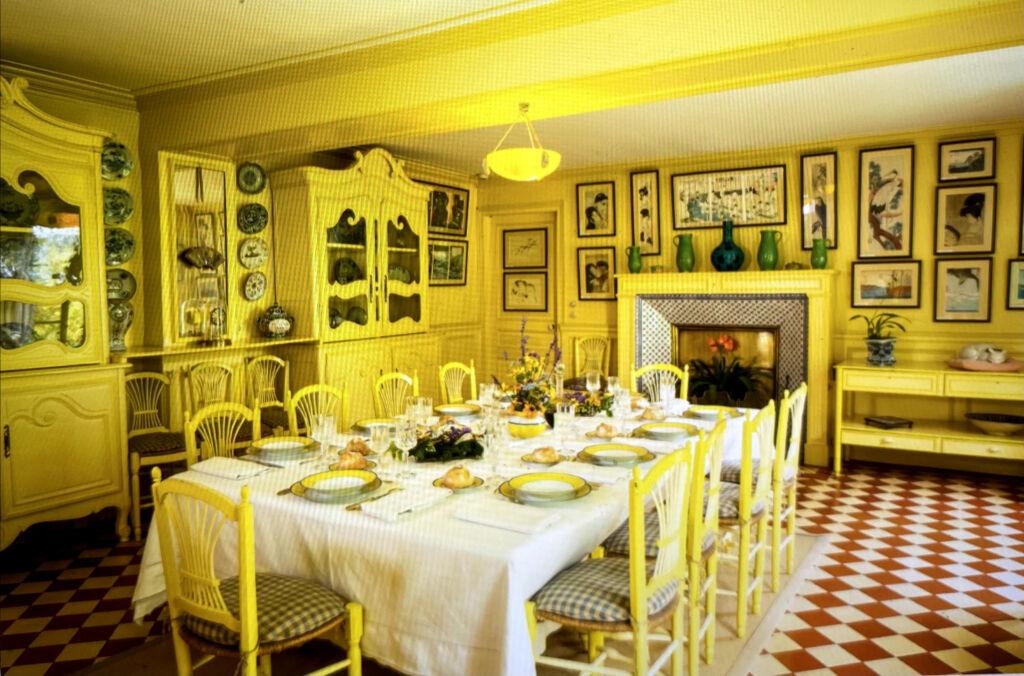 BELOW Claude Monet's kitchen in Geverny
