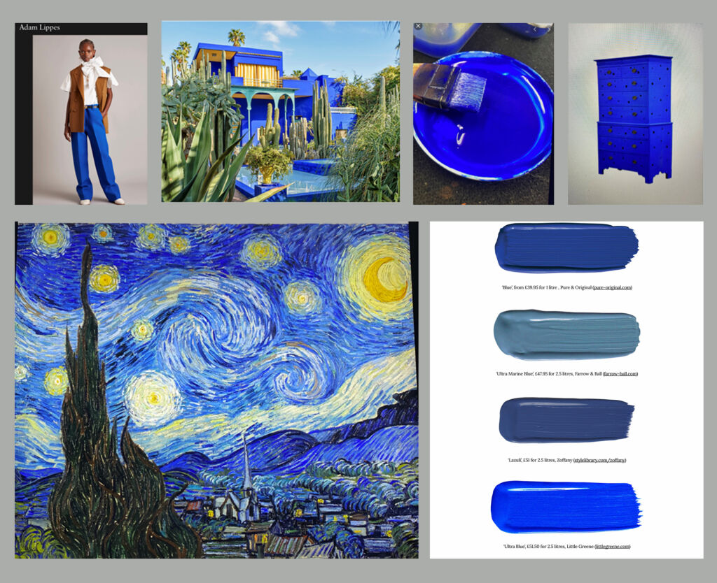 blue 2 collage