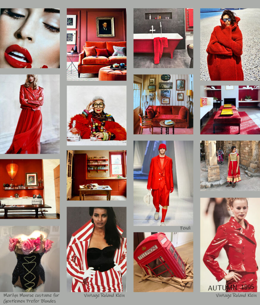 collage red hot